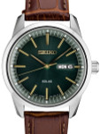 Seiko Solar Watch with 40mm Stainless Steel Case and a Sapphire Crystal #SNE529