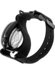 Seiko 5 Sports 24-Jewel Automatic Watch with Black Dial and Black PVD Case #SRPD79