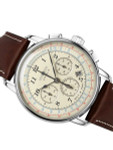 Graf Zeppelin 34-Jewel Automatic Chronograph Watch with Sapphire K1 Coated Crystal #7624-5