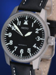Aristo 5H68TI Titanium Case Swiss Automatic Movement Aviator Watch