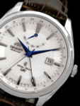 Orient Automatic GMT (dual time)  with Sapphire Crystal and Power Reserve #DJ05003W