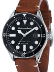 Spinnaker Cahill Automatic Sports Watch with 43mm Case and Black Dial #SP-5033-01
