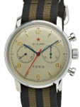 Seagull 1963 Hand Wind Mechanical Chronograph with Sapphire Crystal #6488-2901C-S