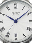 Orient Soma Automatic Dress Watch with White Dial and Stainless Steel Case #ER2K004W