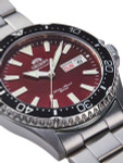 Orient Kamasu Red Dial Automatic Dive Watch with Sapphire Crystal #RA-AA0003R19A