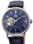 Orient Open-Heart Automatic Dress Watch with Blue Dial #RA-AG0005L10A