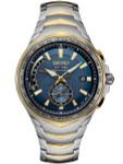 Seiko Coutura Radio Sync, Solar Powered, Dual Time, World Time Watch #SSG020