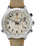 Timex 43mm Waterbury Quartz World Time Watch with INDIGLO Night-Light #TW2R43300VQ