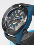 Squale 600 Meter Swiss Made Automatic Dive Watch with 42mm Carbon Fiber Case  #T183BL
