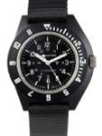 Marathon Swiss Made Quartz Military Navigator Pilot Watch with Tritium Illumination #WW194001