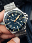 Spinnaker Dumas Automatic 300 Meter Dive Watch with Stainless Steel Mesh Bracelet #SP-5081-22