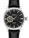 Seiko Presage Open-Heart, Cocktail Time Automatic Dress Watch with 40.5mm Case #SSA359