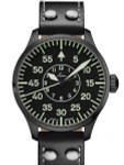 Laco Bielefeld Type B Dial Miyota Automatic Watch, Black Ion Case #861760
