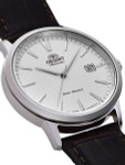 Orient Symphony III Automatic Dress Watch with White Dial #RA-AC0F07S10A