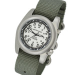 Bertucci A-2SEL Field Watch with Dual Lighting System, Ghost Grey Dial #22026