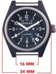 Marathon Swiss Made Quartz Military General Purpose Watch with Tritium Illumination #WW194015