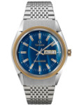 Q Timex Reissue of the Falcon Eye 38mm Stainless Steel Bracelet Watch #TW2T80800ZV