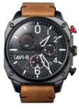 AVI-8 Hawker Hunter Retrograde Aviator Chronograph Watch #AV-4052-02