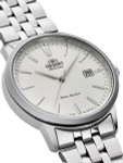 Orient Symphony III Automatic Dress Watch with White Dial #RA-AC0F02S10A