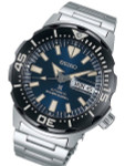 Seiko 2019 Monster Automatic with new Case and Bezel Design #SRPD25