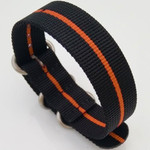3-Ring Nylon Tactical Field Strap with Matte Finish Steel Buckle #TFS-23-SS