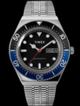 Timex M79 Automatic Watch with 40mm Stainless Steel Case and Matching Bracelet Watch #TW2U29500ZV