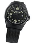 Traser P59 Essential M Black Dial Watch w/Trigalight + SuperLuminova #108206