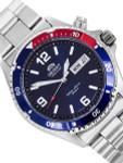Orient Pepsi-Style Bezel Automatic Dive Watch #CEM65006D