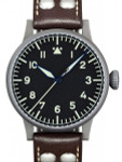 Laco Saarbrucken Type A Dial Swiss Automatic Pilot Watch with Sapphire Crystal #861752