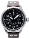 Aristo 3H108 47mm Swiss SW200 Automatic Pilot's Watch with XL Flieger Crown