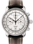 Graf Zeppelin Hand Wind Mechanical Chronograph Watch with Exhibition back #7608-1