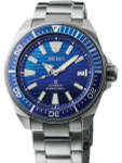 Seiko Save the Ocean Prospex Samurai Automatic Dive Watch with Stainless Steel Bracelet #SRPC93