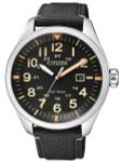 Citizen Military Watch Eco-Drive Black Dial with Black Nylon Strap #AW5000-24E