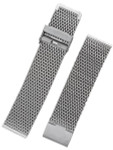 STAIB Polished Finish Milanaise Mesh Bracelet #ST-ST-2906-20811SBL (Straight End, 20mm)