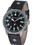 Messerschmitt 41mm Light Weight Titanium Case Pilot's Watch #ME-68Ti