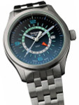 Traser P59 Aurora GMT, Dual-Time Watch with an Anti-Reflective Sapphire Crystal #107036