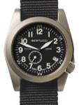 Bertucci  A-11T Americana Titanium Watch with Black Nylon Strap #13333