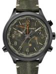 Timex 43mm Waterbury Quartz World Time Watch with INDIGLO Night-Light #TW2R43200VQ