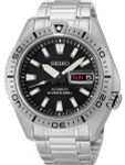 Seiko Stargate II Automatic Dive Watch with Black Dial and Stainless Steel Bracelet #SRP491K1