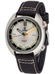 Ocean Crawler Great Lakes 300-Meter Dive Watch with Swiss Movement and Silver Dial #CD-1232