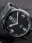 Laco Spirit of St. Louis Type C Dial Automatic Pilot Watch with PVD Case and Sapphire Crystal #861909