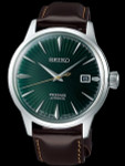 """Seiko Presage """"Cocktail Time"""" Automatic Dress Watch with 40mm Case #SRPD37"""