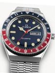 Q Timex Reissue of 1970's 38mm Stainless Steel Bracelet Watch #TW2T80700ZV