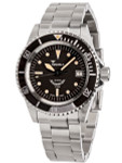 Squale 200 meter Swiss Automatic Dive watch with Ceramic Bezel, Domed AR Sapphire Crystal #1545-ORIG