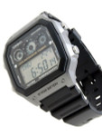 Casio Sport Watch with Stopwatch, World Time, Alarm, and 10-year Battery #AE-1300WH-8A
