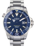 Davosa Argonautic BG Swiss Automatic 300 Meter Dive Watch with Blue Dial #16152204