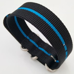 3-Ring Nylon Tactical Field Strap with Matte Finish Steel Buckle #TFS-21-SS