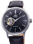 Orient Open-Heart Automatic Dress Watch with Black Dial #RA-AG0004B10A