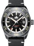 PHOIBOS Black Meteorite Dial Proteus 300-M Automatic Dive Watch with AR DD Sapphire Crystal #PY028E