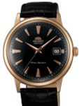 Orient 2nd Generation Automatic Watch with Rose Goldtone Case and Hour Markers #AC00001B